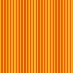 Orange Stripes on Yellow