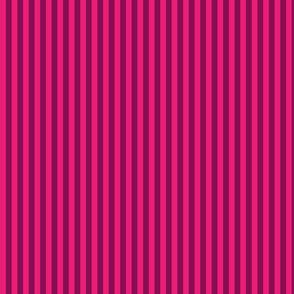 Pink Stripes on Purple
