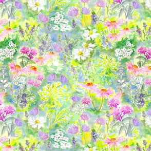 Herb Garden Blooms SM