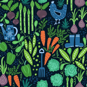 Verdant Vegetables