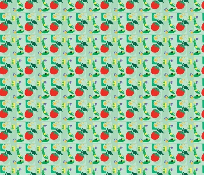 Tomato & Sweet Peas