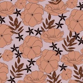Idyllic Bloom in Peachy