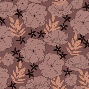 Idyllic Bloom in Mauve