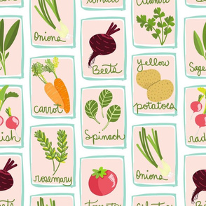 Veggie and Herb Seed Packets