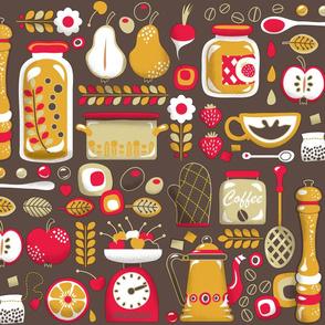 Mum's Kitchen Wallpaper