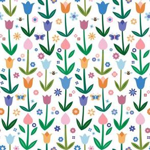Tulip Field Summer