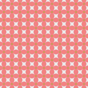 small abstrakt flowers in pink