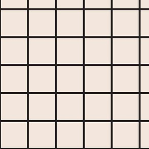perfect grid in cream