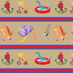 Dinosaur Playground Stripe 1