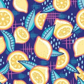 Mellow Yellow_Blue_Laura Wayne Design