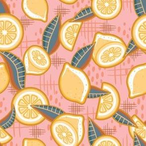 Mellow Yellow_Coral_Laura Wayne Design