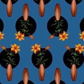 tiger lillies (blue)