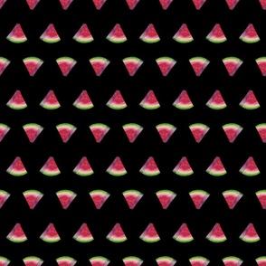 watermelon slices 1 (black)