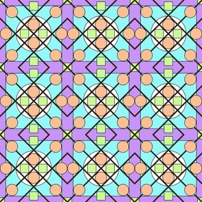Geometric Stained Glass #2 Small