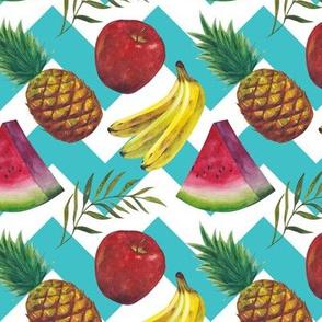 Fruit salad (zigzag)