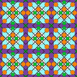 Geometric Stained Glass #6 Small