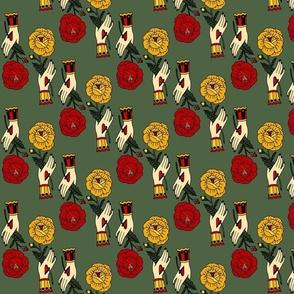 oasis palmtrees (polkadots)