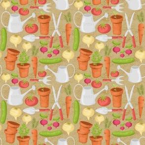 My Blissful Vegetable Garden