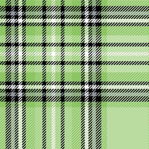 LG green apple tartan style 1 with 8in repeat