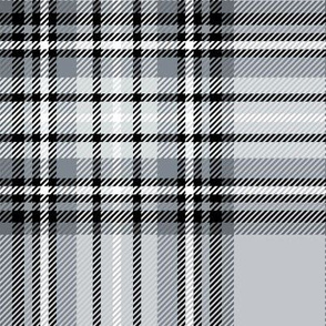 LG grey tartan style 1 with 8in repeat