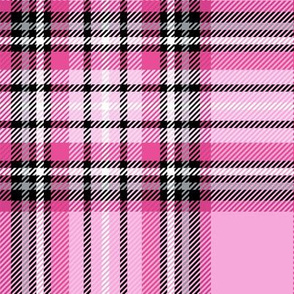 LG magenta tartan style 1 with 8in repeat
