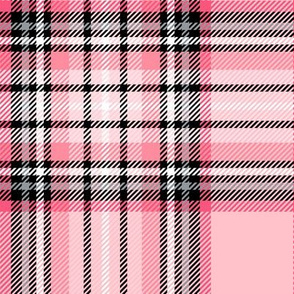 LG pink tartan style 1 with 8in repeat