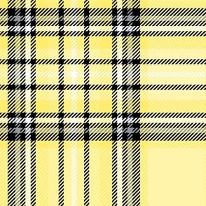 LG yellow lemon tartan style 1 with 8in repeat