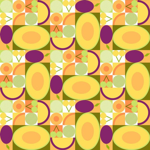 stone fruit puzzle small