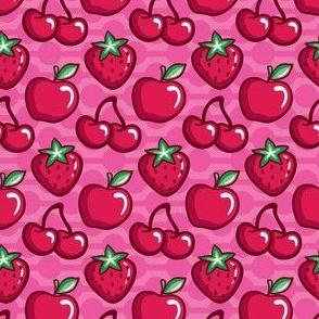 Fruit Salad_Pink_Laura Wayne Design