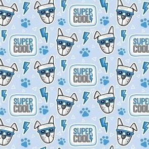 Super Cool Dog_Dog Pattern_Laura Wayne Design