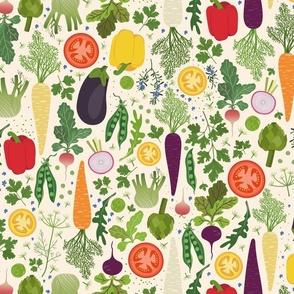 My veg garden