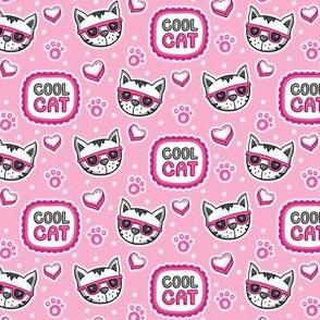 Cool Cat_Cat Pattern_Laura Wayne Design