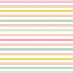 Perfectly Pinstripe //Pastel Dream (Horizontal)