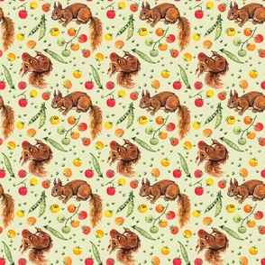 Party in the Garden: Squirrels and Tomatoes