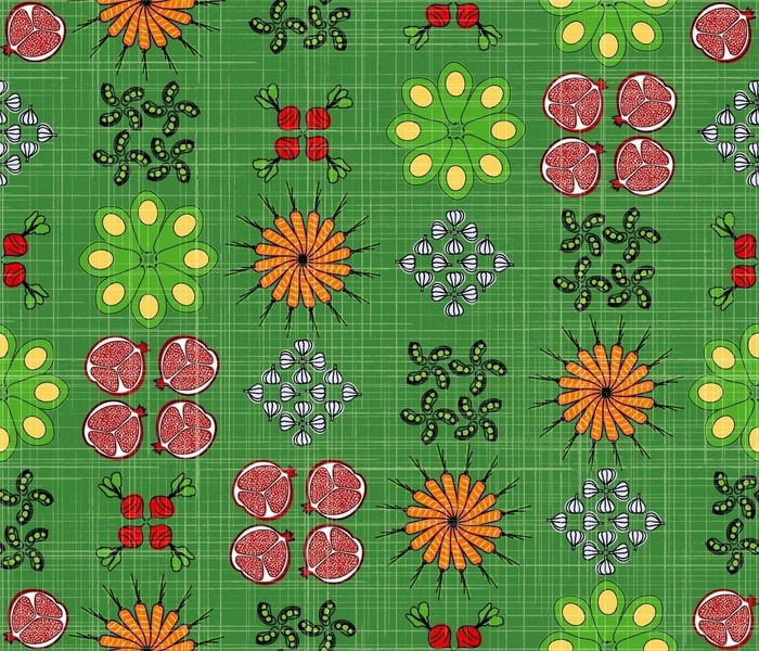 Abundant Mandala Garden Boxes - Green