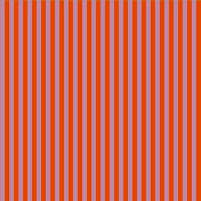 summer stripes berry and dark orange