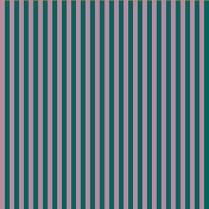 summer stripes berry and petrol