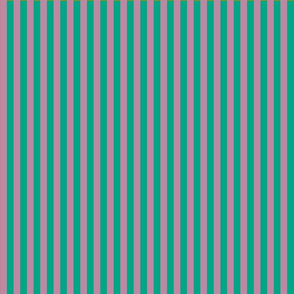 summer stripes berry and  turquoise