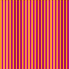 summer stripes orange and  magenta