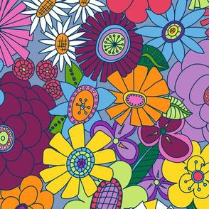 Mellower Moddy-Mod Floral -JUMBO scale