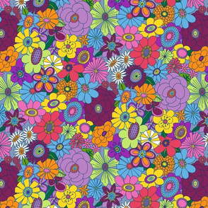 Mellower Moddy-Mod Floral - SMALL scale