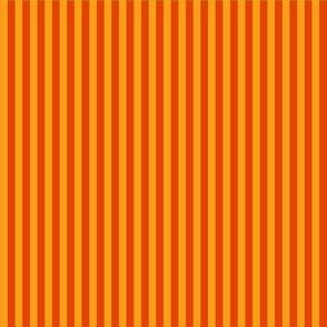 summer stripes orange and dark orange