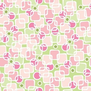 Pink and Green funky