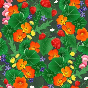 A Floral Feast - Edible Flowers