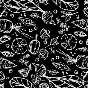 Garden variety-black
