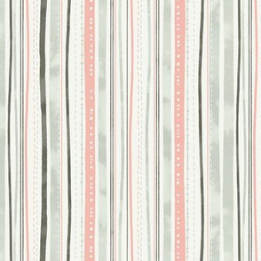 Gray and Pink Stripe