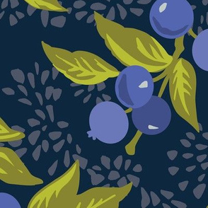 blueberry picking farm navy large scale