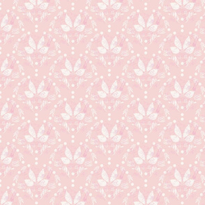 Scallop on soft pink