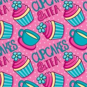 Cupcakes And Tea_Laura Wayne Design