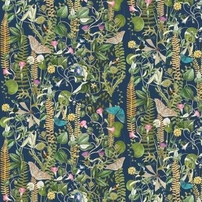 Wild Garden, Iris Blue // small